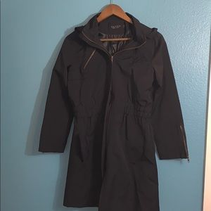 Gucci hooded tench coat jacket - Size small